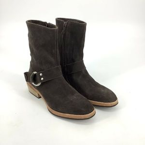 Free People Harness Mid Boots Brown EU 36/ US 5.5